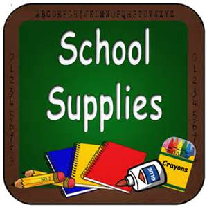 2017-2018 School Supplies List
